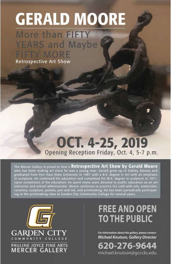 Mercer Gallery October Exhibit Featuring Gerald Moore