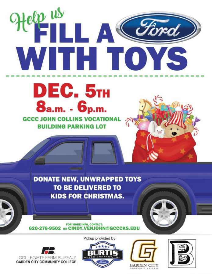 "GCCC and Burtis Motor Company Annual ""Fill a Ford"" Toy Drive"