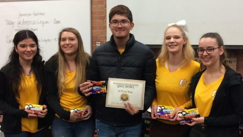 Garden City Community College Quiz Bowl Starts Season Taking First at Their Opening Tournament