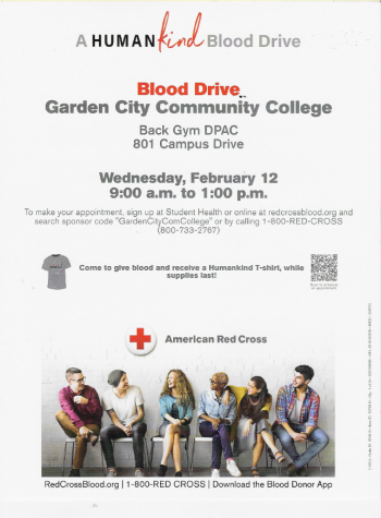 Garden City Community College Blood Drive