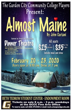 "College Players Present ""Almost, Maine"" February 20-23"